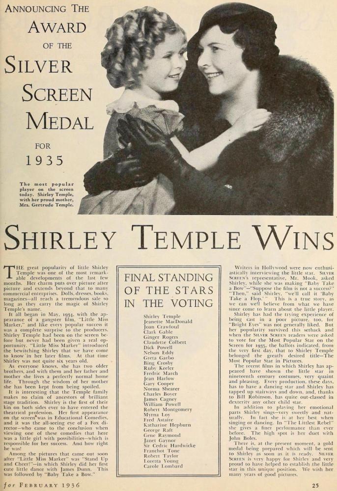 silver screen february 1936da