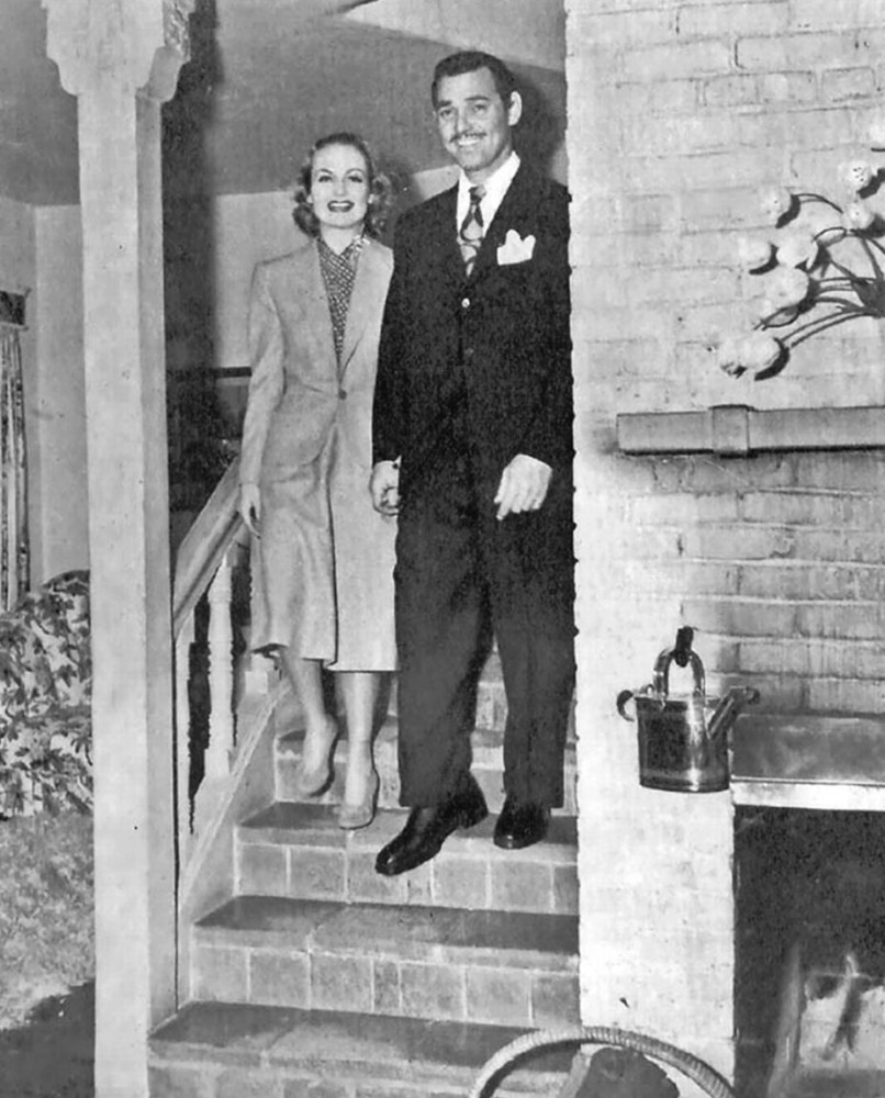carole lombard clark gable 033039 press conference 03a
