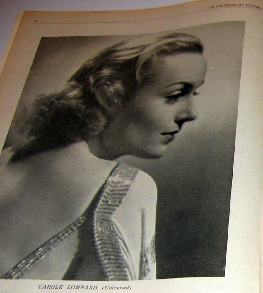 carole lombard le courrier du cinema 091036ba