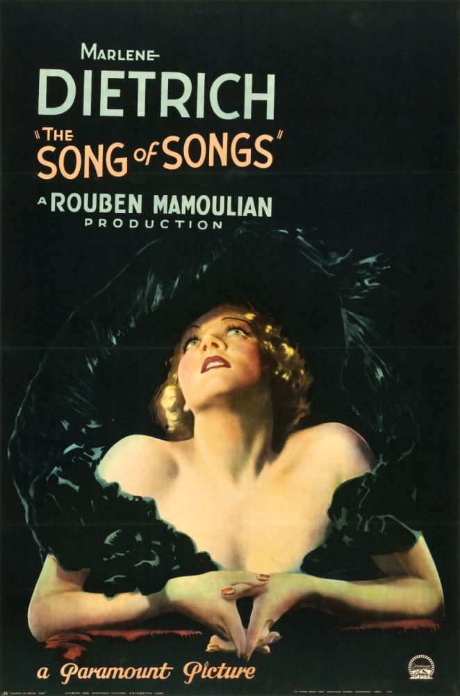 marlene dietrich the song of songs full-bleed one-sheet 00