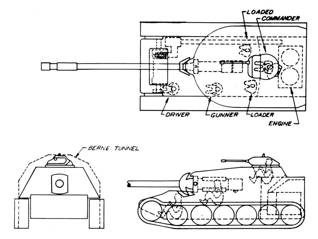 Chrysler T110 Heavy Tank The Armored Patrol