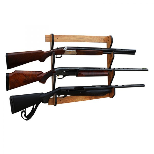 rush creek creations 3 gun wall mount gun rack