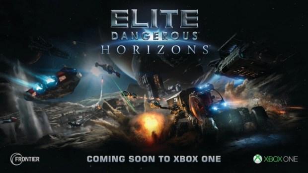 Elite Dangerous: Horizons komt naar Xbox One