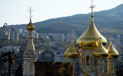 Собор Александра Невского в Ялте © РИА Новости,Константин Чалабов