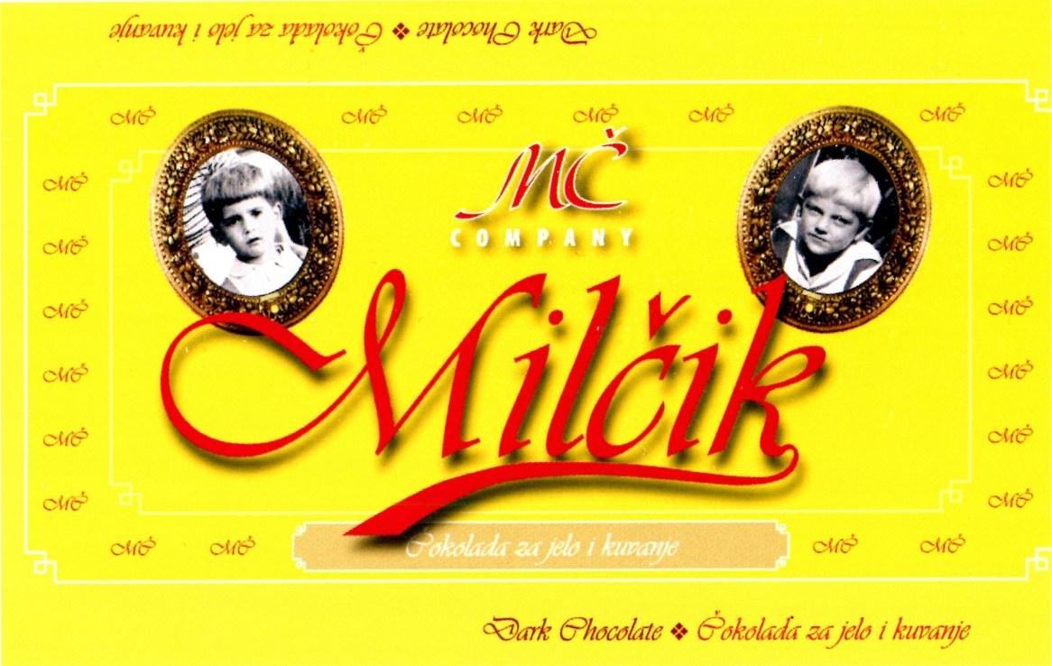 Milčik / 2003 / čokolada za jelo i kuvanje / autor Milija Pavićević