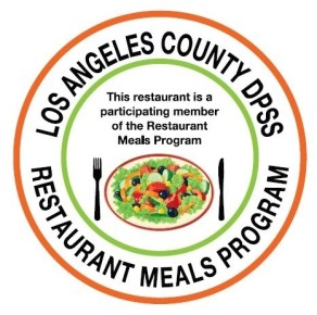 """Calfresh Restaurant Meals Program Los Angeles"""