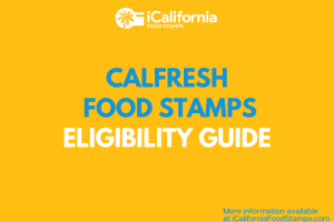 """Am I eligible for California Food Stamps"""
