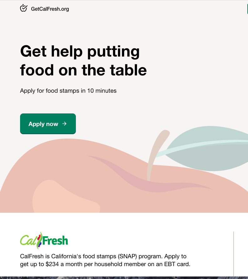 """How to apply for CalFresh Food Stamps"""