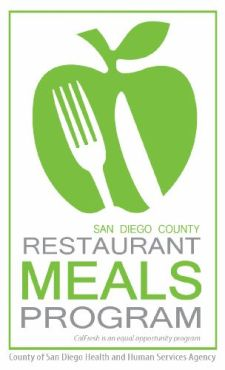 """Restaurant Meals Program - San Diego County"""