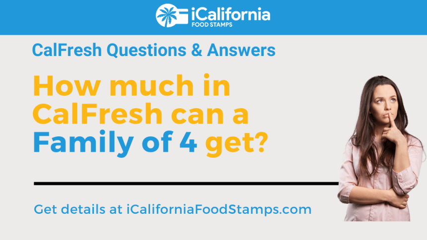 """""""Calfresh for a family of 4"""""""
