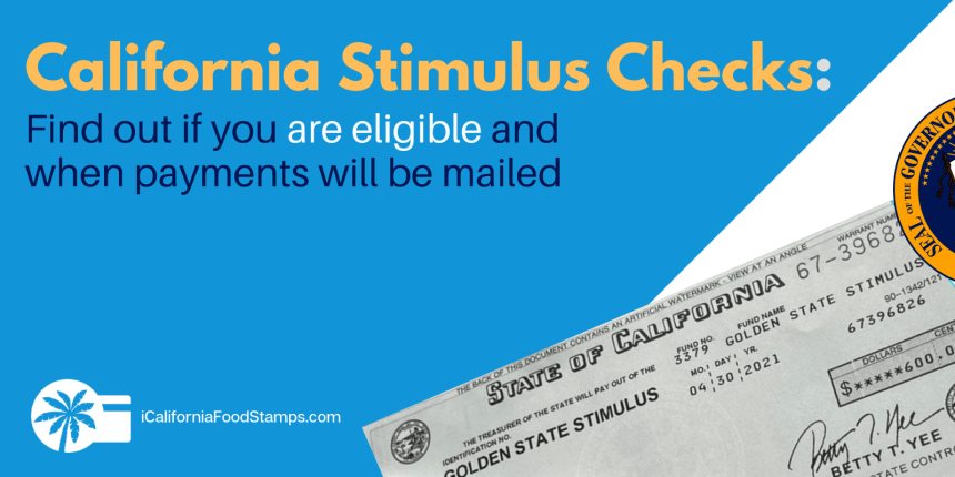 """California Golden State Stimulus Check"""