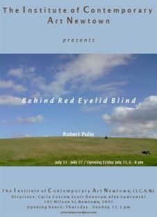 Robert Pulie - Behind Red Eyelid Blind