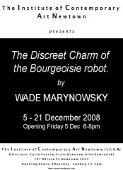 Wade Marynowsky - The Discreet Charm Of The Bourgeoisie Robot