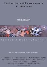 Mark Brown - Rubble To Dust + Graffiti