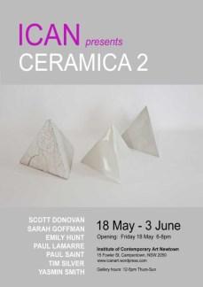 ICAN Presents Ceramica 2