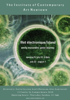 Emily Morandini & Peter Blamey - Filet Electronique/Island