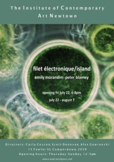 Emily Morandini & Peter Blamey - Filet Electronique/Island