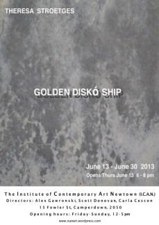 Theresa Stroetges - Golden Disko Ship
