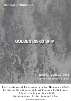 Theresa Stroetges - Golden Disko Ship