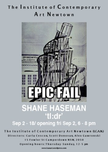 Shane Haseman - Tl:dr