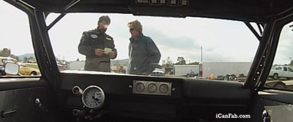 1972 chevy vega pro street at Cherokee Raceway in Rogersville TN