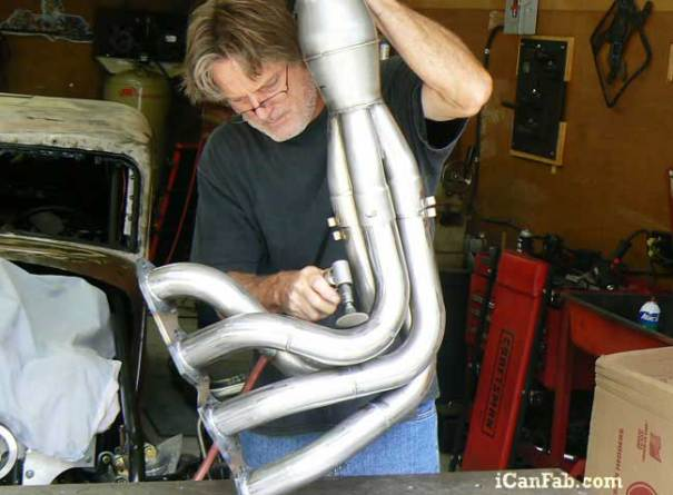 Building Headers for the 33 Plymouth Coupe