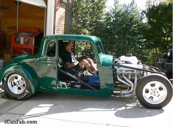 This is a custom one of a kind pro street car