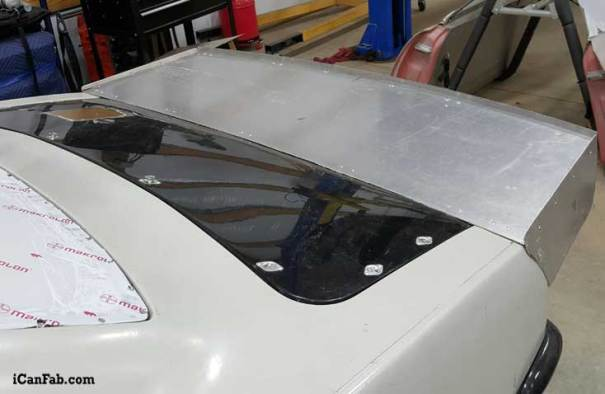 custom drag racing spoiler for 68 camaro