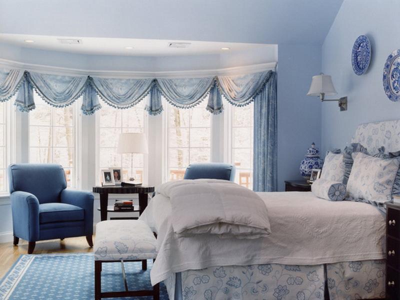 Blue White Bedroom Ideas Novocom Top