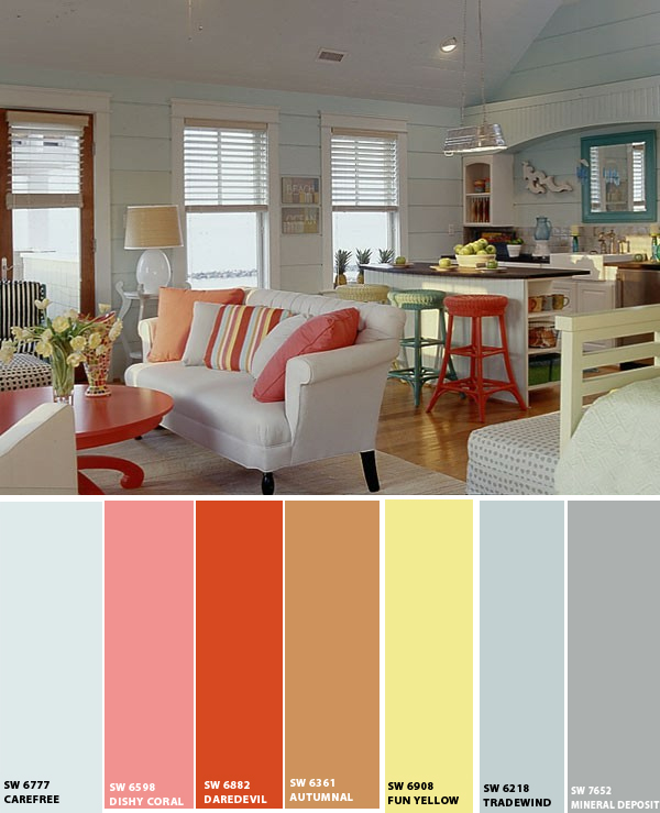 Interior Decorating Color Schemes