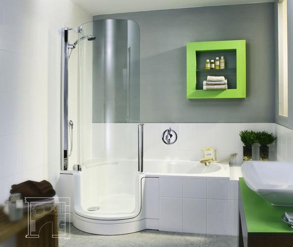 Deep Bathtub Shower Combo Decor Ideasdecor Ideas