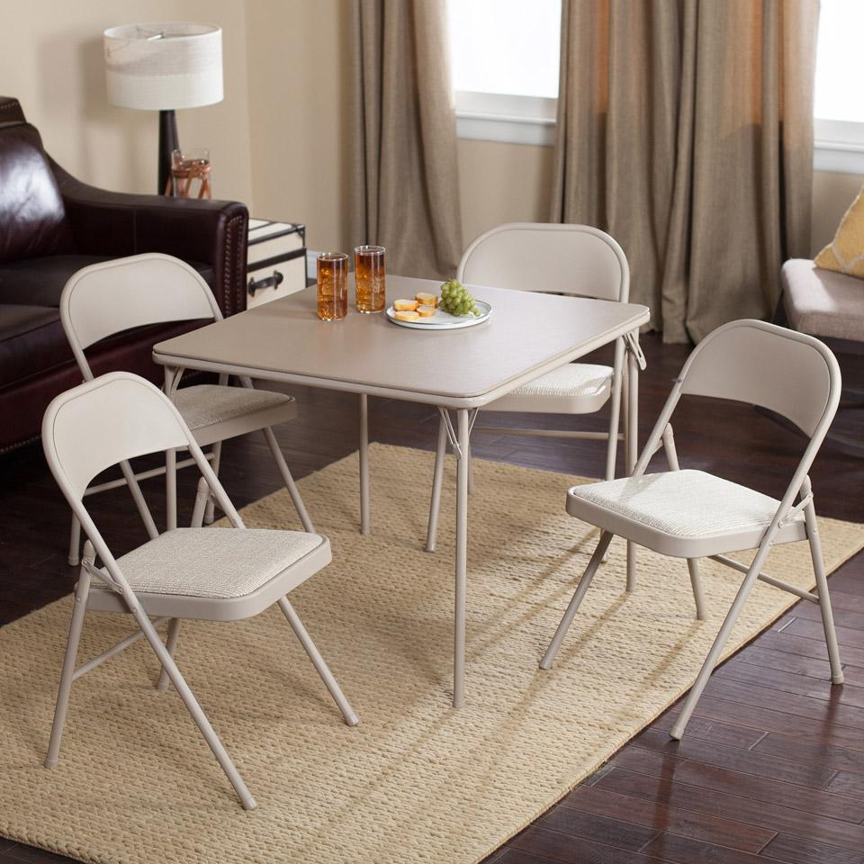 Samsonite Card Table And Chairs Set Decor IdeasDecor Ideas