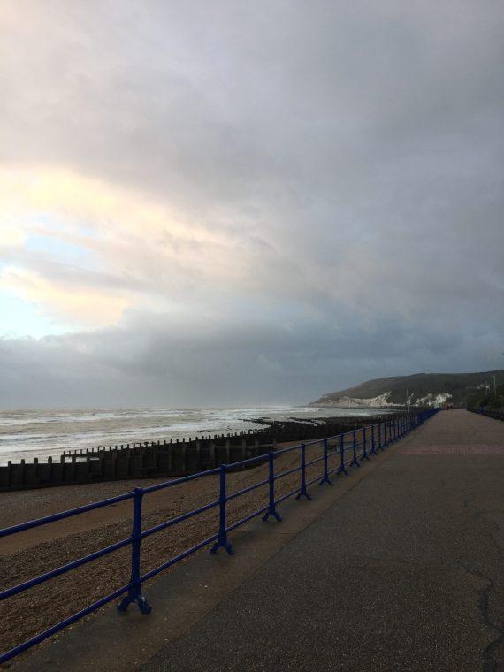 early morning walk towards Beachy Head