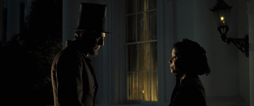 Daniel Day-Lewis stars alongside Gloria Reuben as the 16th President of the United States in Steven Spielberg's LINCOLN (2012)
