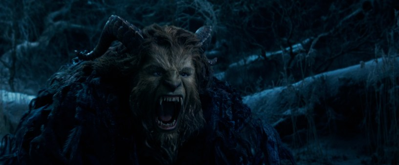 The Beast (Dan Stevens) in Disney's BEAUTY AND THE BEAST, a live-action adaptation of the studio's animated classic which is a celebration of one of the most beloved stories ever told.