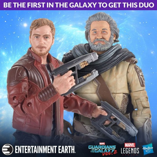 Star-Lord Ego Action Figures