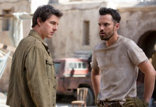Tom Cruise and Jake Johnson star in THE MUMMY (2017)