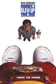 July 17, 1992: HONEY, I BLEW UP THE KID! - $58.6 million total box office gross