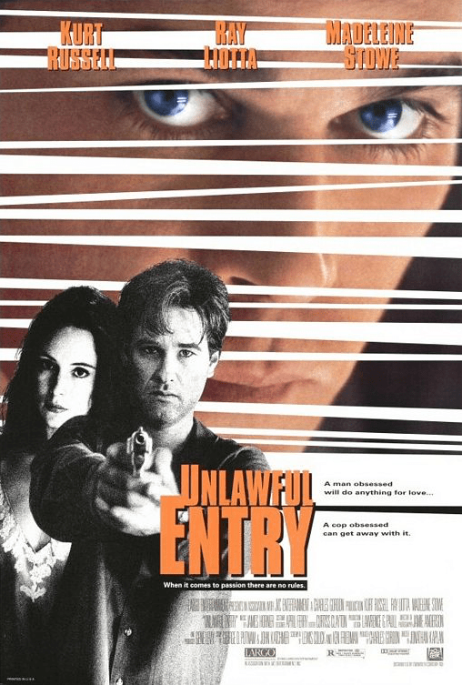 June 26, 1992: UNLAWFUL ENTRY - $57.1 million total box office gross