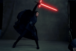 Adam Driver stars in STAR WARS: THE LAST JEDI