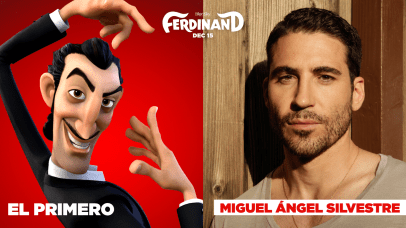 Miguel Angel Silvestre is the voice of El Primero in FERDINAND.
