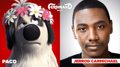 Jerrod Carmichael is the voice of Paco in FERDINAND.