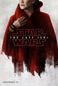 Leia character poster for STAR WARS: THE LAST JEDI.