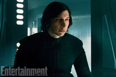 Adam Driver stars as Kylo Ren in STAR WARS: THE LAST JEDI.