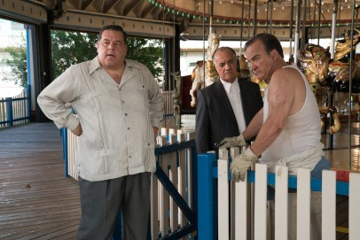 Steve Schirripa, Tony Sirico, and Jim Belushi co-star in WONDER WHEEL.