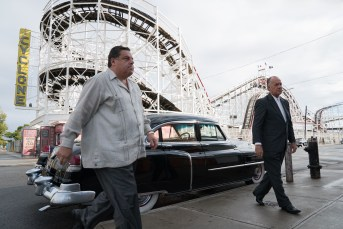 Steve Schirripa and Tony Sirico co-star in WONDER WHEEL.