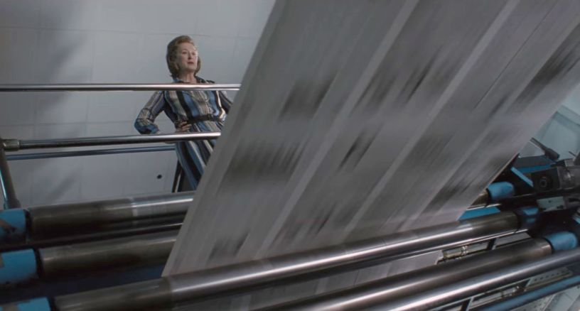 Meryl Streep stars in Steven Spielberg's Watergate drama about the Pentagon Papers, THE POST (2017)