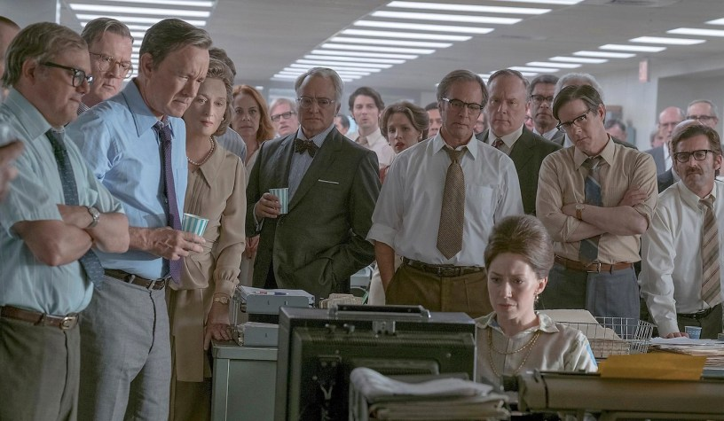 Tom Hanks leads an all-star cast in Steven Spielberg's Watergate drama about the Pentagon Papers, THE POST (2017)