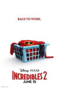 INCREDIBLES 2 Laundry One Sheet