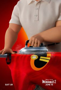 INCREDIBLES 2 Iron One Sheet